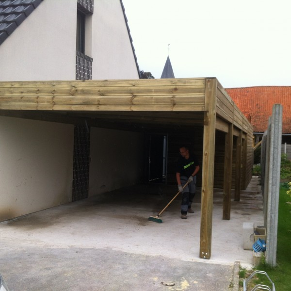 Carport + cellier (particulier)