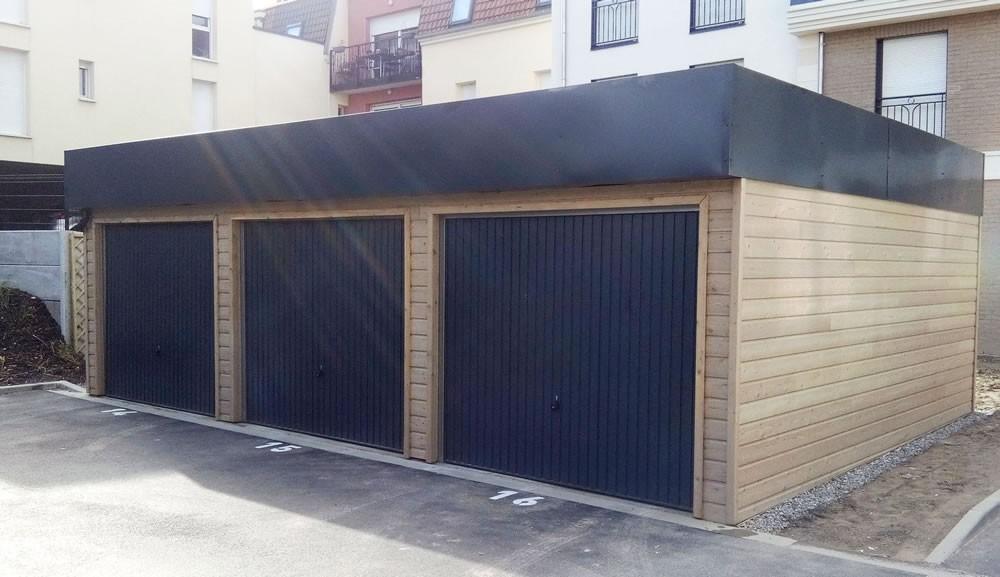 garages bois green park