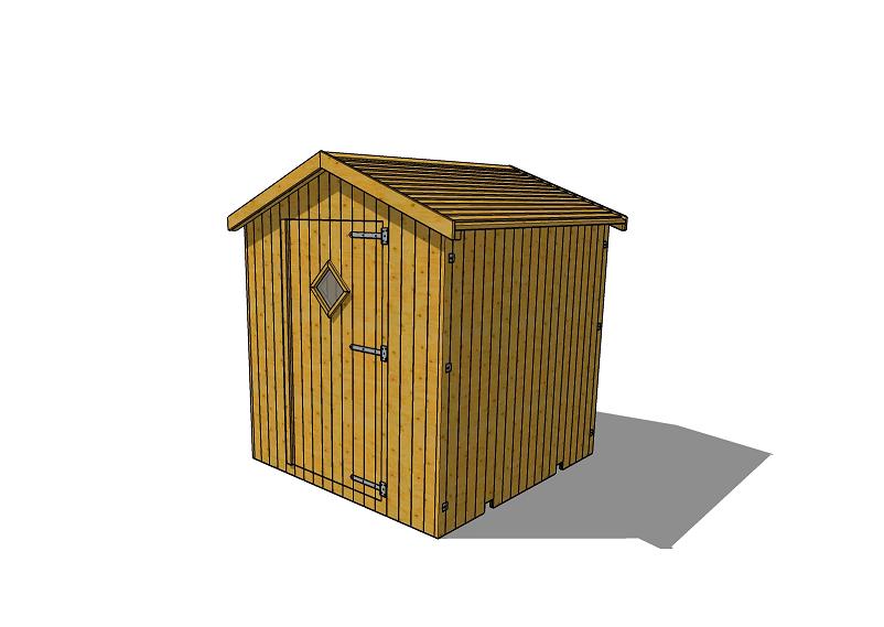 cabine de plage bois green park. Black Bedroom Furniture Sets. Home Design Ideas